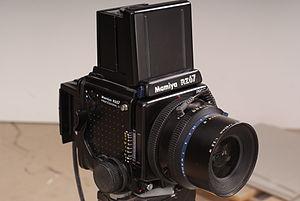 Digital camera back - Mamiya RZ Professional II(Film camera)and Phase one Digital back