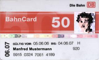 BahnCard loyalty program