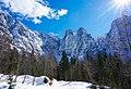 Mangart Bergkette, Tarvis, Friaul-Julisch Venetien, Italien.jpg