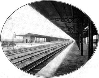 Manhattan Transfer station railway station
