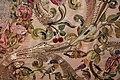 Manifattura forse fiorentina, paliotto della madonna del letto, raso, seta, oro e argento, 1601, da museo del ricamo di pistoia 05 farfalla, uccelli, ciliegie.jpg