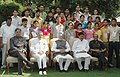 Manmohan Singh with the Jammu & Kashmir youth representing a cross section of the society, in New Delhi. The Union Home Minister, Shri Shivraj Patil and the Minister of State, Prime Minister's Office.jpg