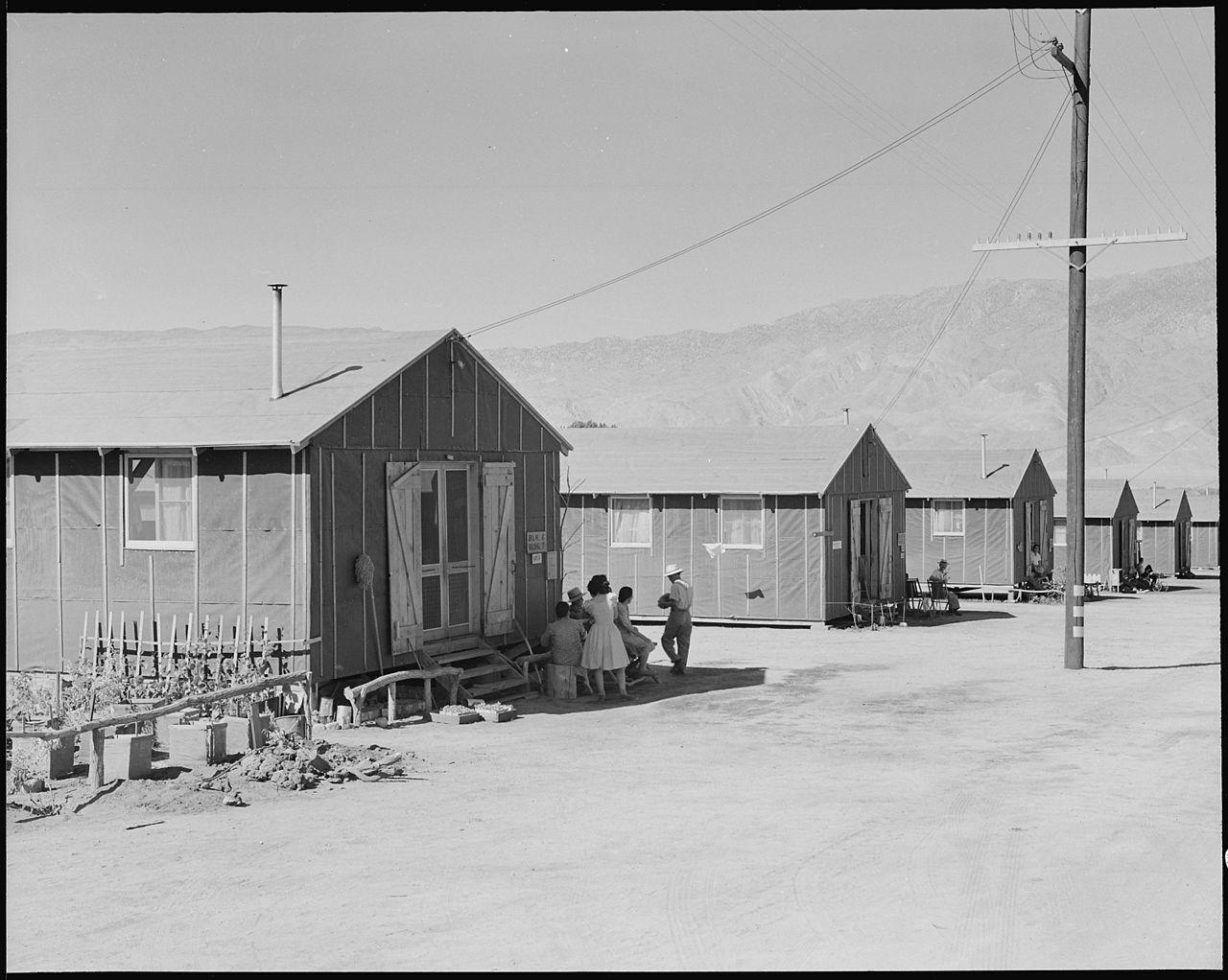 File Manzanar Relocation Center Manzanar California