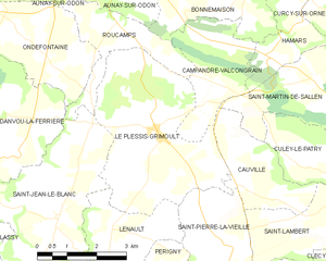 Map commune FR insee code 14508.png