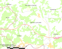 Map commune FR insee code 19030.png