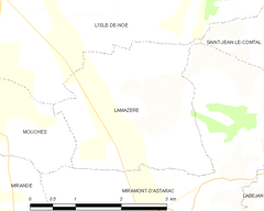 Map commune FR insee code 32187.png