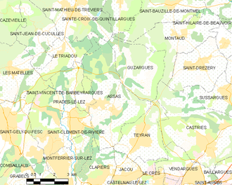 Assas - Map