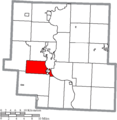 Map of Muskingum County Ohio Highlighting Springfield Township.png
