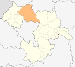 Svoge Municipality - Image: Map of Svoge municipality (Sofia Province)