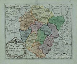 Map of Yaroslavl Namestnichestvo 1796 (small atlas).jpg
