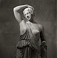 Marble statue of a wounded Amazon MET DP107594.jpg