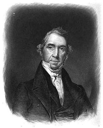 Marcus Morton - Engraved portrait of Morton