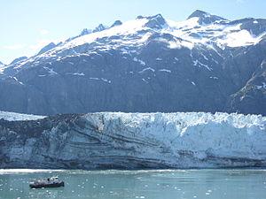 Margerie Glacier - Image: Margerie Glacier July 2008