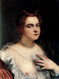 Marietta Robusti Tintoretta Autorretrato Museo del Prado.jpeg