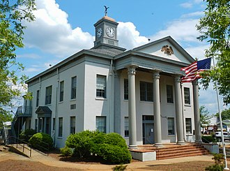Marion County, Georgia - Image: Marion County Courthouse (NRHP) Buena Vista, GA