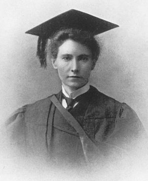 Marion Gilchrist (doctor) - Marion Gilchrist in 1894