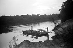 Marion Post Wolcott - Old cable ferry between Camden and Gees Bend, Alabama.jpg