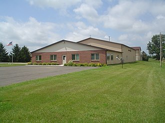 Marion Township, Ogle County, Illinois - Marion Township building.