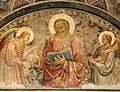 Mariotto di nardo, santo tra angeli e Agnus Dei tra i simboli degli evangelisti, 02.jpg