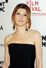 Photo of Marisa Tomei at the 2012 Toronto International Film Festival.