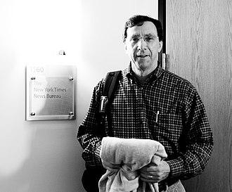 John Markoff - John Markoff at San Francisco New York Times bureau