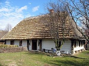 Wisłok - Image: Markowa chata przyslupowa