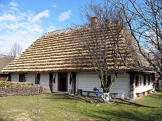 Red Ruthenia - Village of Markowa, about 150-200 km southeast of Kraków. Its 18th- and 19th-century Upper Lusatian houses evoked the mountains of Saxony.