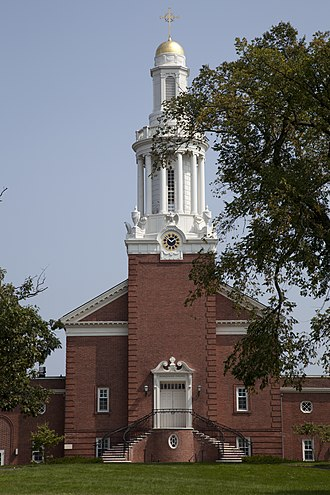 Yale Divinity School - Marquand Chapel on the Sterling Divinity Quadrangle