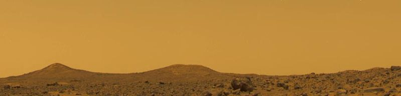Mars Sky at Noon - Pathfinder image, NASA / JPL