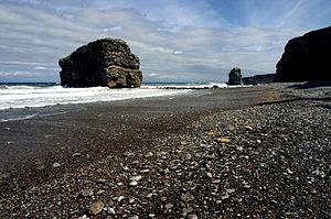 Marsden, Tyne and Wear - Image: Marsden bay and rock tyne and wear