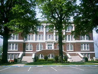 East Texas Baptist University - Marshall Hall, construction completed in 1916