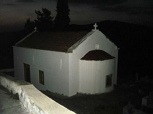 Martha church Panagia night photo