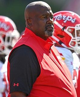 Mike Locksley American football coach