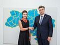 Maryna Poroshenko's visit to Croatia - 2018 (1534789128).jpg