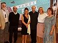 Massone, Juan Antonio (1l), Malenica, Nives (3), Skarmeta, Antonio (4), Polic Bobic, Mirjana (5) & Stambuk, Patricia (6), -FILSA 20171112 fRF01.jpg