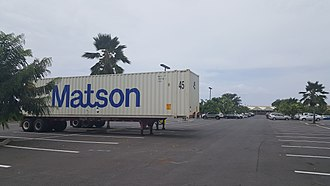 Matson, Inc. - Image: Matson Horizon containers 1 in Hawaii