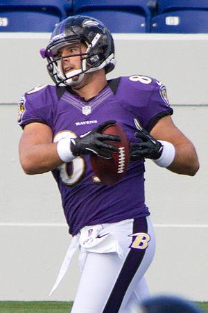 Matt Balasavage - Balasavage during Ravens practice at Navy–Marine Corps Memorial Stadium, August 2012