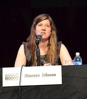 Maureen Johnson cover