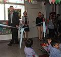 Mauricio Macri inauguró un jardín maternal en Nueva Pompeya (7094410933).jpg