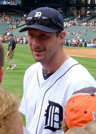 Max Scherzer - Scherzer during his tenure with the Detroit Tigers in 2013