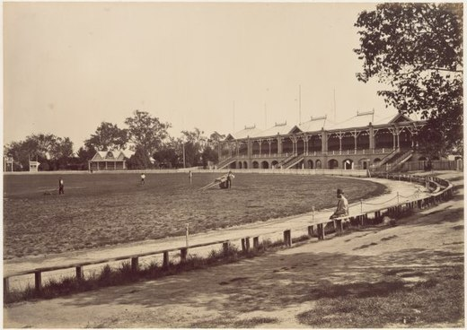 Melbourne Cricket Ground in 1878