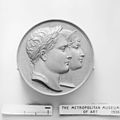 Medal commemorating the birth of the King of Rome (1811–1832) MET 109209.jpg