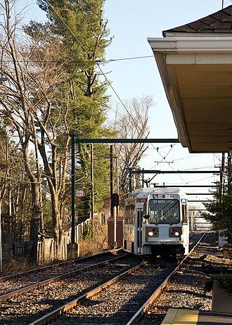 Woodland Avenue station - Image: Media Local at Woodland Ave (6484663637)