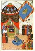 Meeting of I Soliman and János Zsigmond in Zimony, 1566.jpg