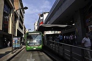 Megabús estación