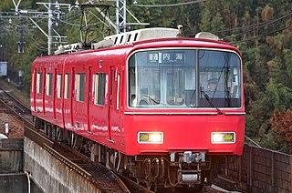 Meitetsu Chita New Line railway line owned by Meitetsu in Japans Chubu region