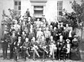 Members of the Florida Senate gathered on the capitol steps for a group portrait - Tallahassee, Florida.jpg