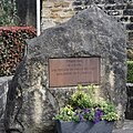 Memorial plate victims WWs I and II Fischbach, Luxembourg, 2021-07.jpg