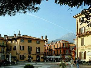 Menaggio - Piazza Garibaldi.