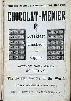 Schokoladenfabrik Menier